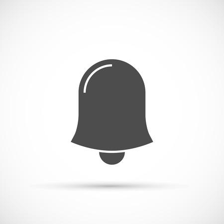 bell ringer: School bell vector icon