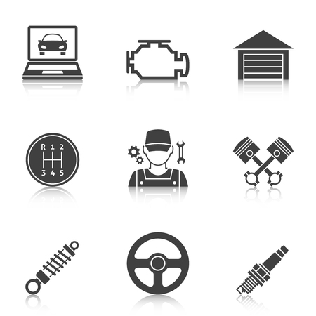 auto service: Auto Service Icons vol 2. Car repair service icons