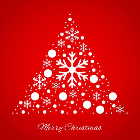 lightweight ornaments: Christmas tree triangular ornament