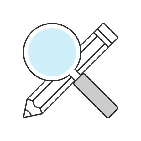 Searching keywords illustrtion