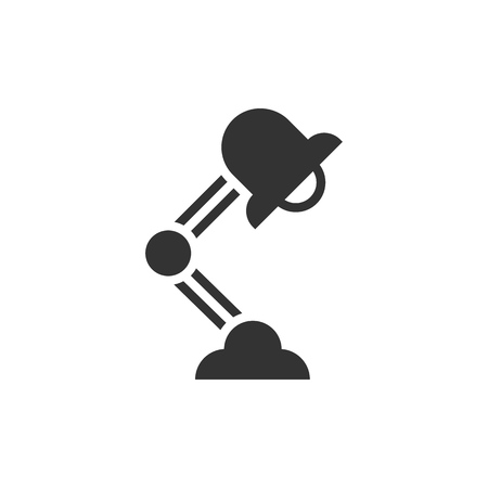 Office lamp icon. Business concept