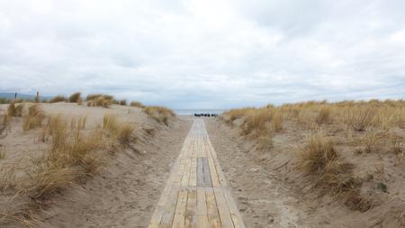 meer: to the beach Stock Photo