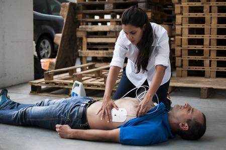 cpr: application electrodes