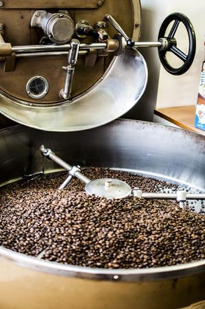 grains de café grillées