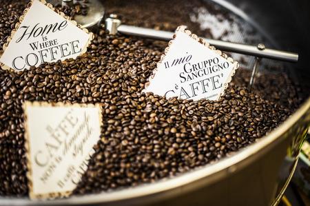 toasted coffee beans Archivio Fotografico