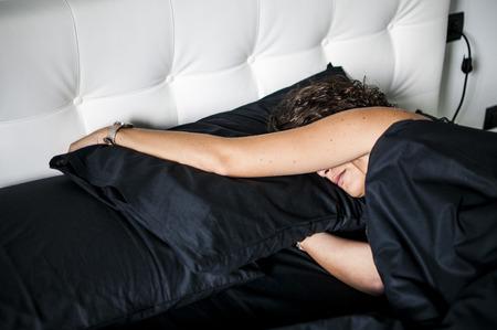 sleepiness: Wake up Stock Photo