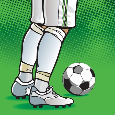 Soccer player Illustration