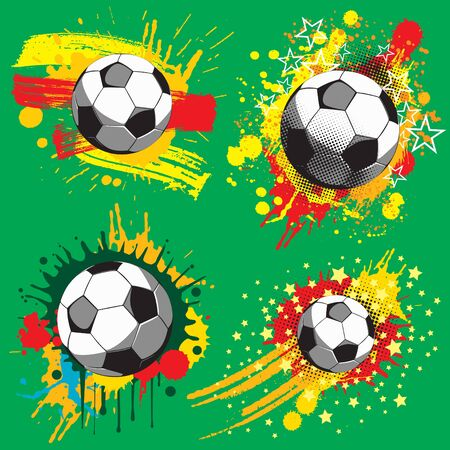 Soccer ball Stock Vector - 7442292