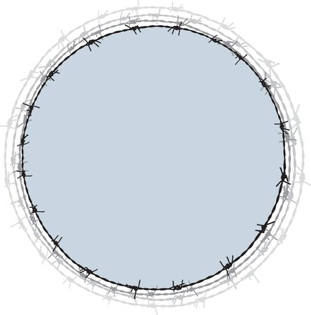 barb: Barbwire frame
