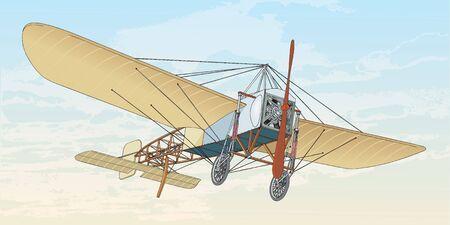 Primo volo, volo francese bleriot XI