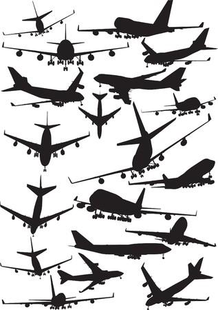 boeing 747: Sagome di aeroplano, Boeing 747
