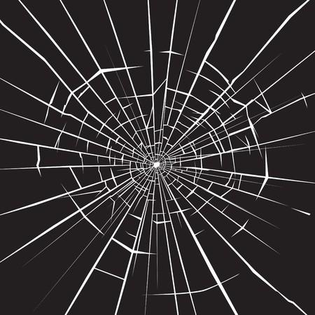 Shattered glass Vector