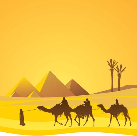 Cairo panorama Vector