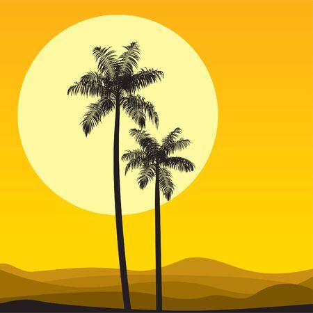 사하라 사막 경치