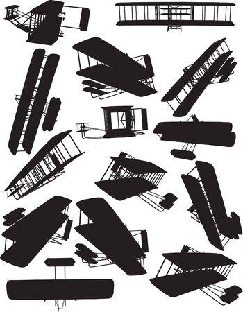 interceptor: Early Flight, Wright silhouettes