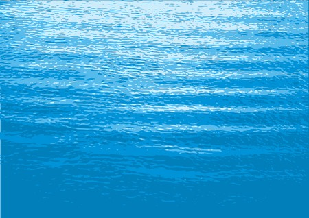 water stream: Sea vector illustration