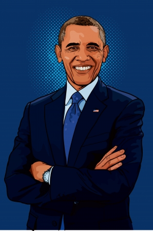 obama: Barack Hussein Obama II is the 44th and current President of the United States, the first African American to hold the office.