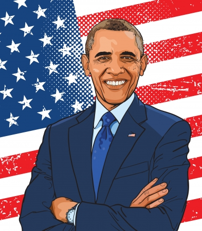 elected: Barack Hussein Obama II is the 44th and current President of the United States, the first African American to hold the office.
