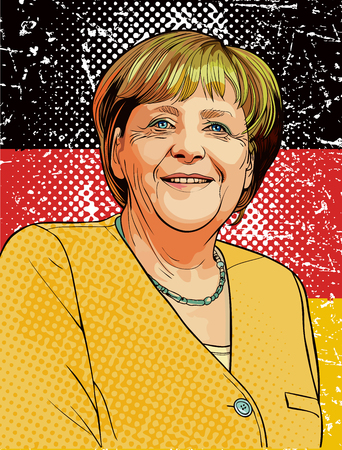 Angela Dorothea Merkel � un politico tedesco ed ex ricercatore che � stato il Cancelliere della Germania dal 2005, e il leader dell'Unione cristiano-democratica dal 2000. Lei � la prima donna a ricoprire sia carica.