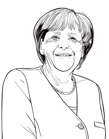 oficina antigua: Angela Dorothea Merkel es un político alemán y ex científico de la investigación que ha sido la Canciller de Alemania desde 2005, y el líder de la Unión Democrática Cristiana desde 2000. Ella es la primera mujer en ocupar cualquier cargo.