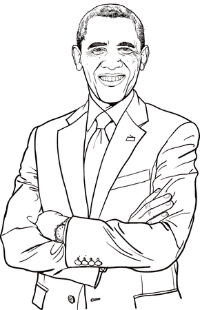 elected: Barack Hussein Obama is the 44th and current President of the United States, the first African American to hold the office. Editorial