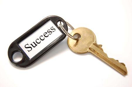 doelen: Sleutel tot succes Stockfoto