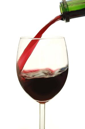 Pouring a glass of red wine Stock Photo - 4249808