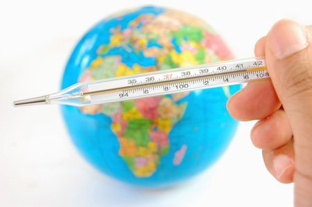 Measuring the earths temperature  photo