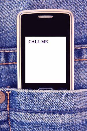Call me photo