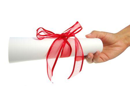 deeds: Paper scroll