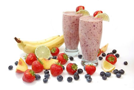 Fruit smoothies photo
