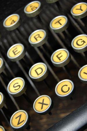 Vintage typewriter Stock Photo - 6182831