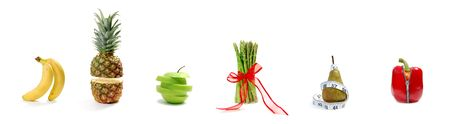 Fruit and vegetable parade Stock Photo - 6479528