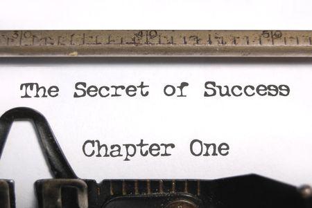 story: Detalle de una m�quina de escribir vintage
