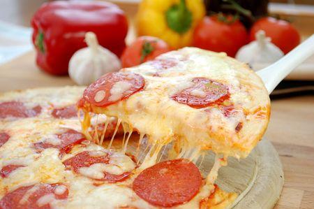 Pizza pull Фото со стока - 6645421