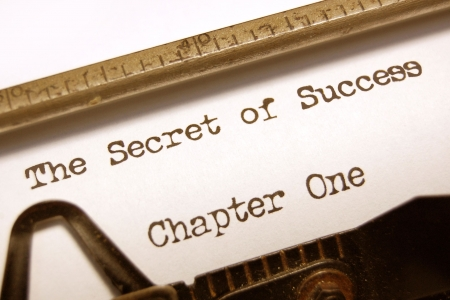 The secret of success Stock Photo - 6694799