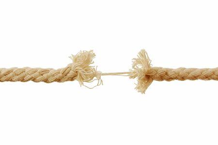 Breaking rope