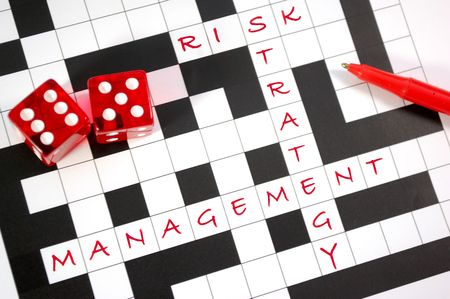 Estrategia de administración de riesgo Foto de archivo - 6737936