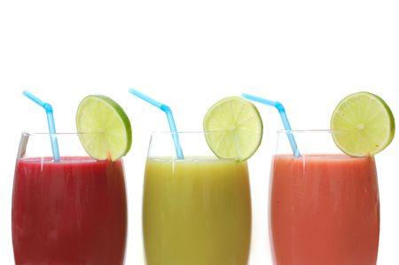 jugos: Selecci�n de jugos diferentes