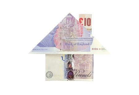 Money house Stock Photo - 7302030