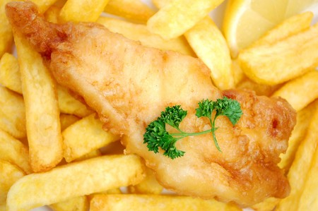 Fish and chips Stock Photo - 7369465
