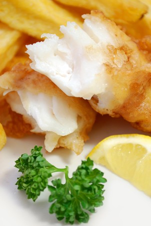 Fish and chips Stock Photo - 7369467