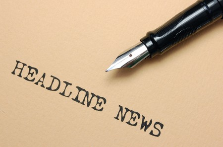 News Headlines Stock Photo - 7477176
