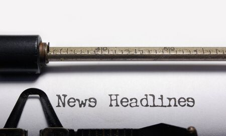 News headlines Stock Photo - 7732323