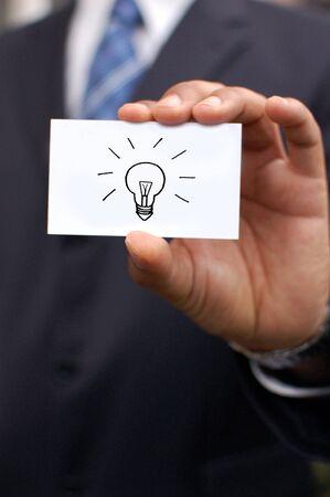 Business idea Stock Photo