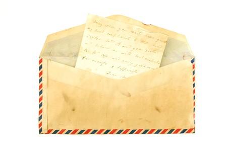 vintage envelope: Vintage envolvente