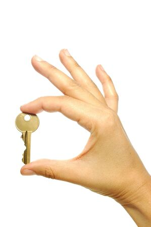 Golden key Stock Photo - 8031047