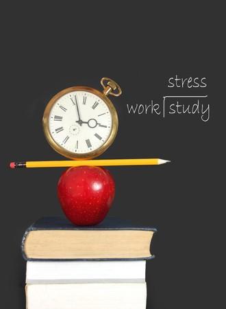 Study stress photo