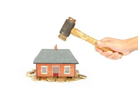 House market crisis Stock Photo - 8192560