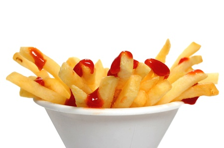 ketchup: French fries